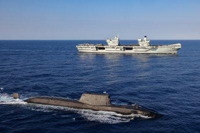 British Queen Elizabeth Carrier Group Forward Deploys