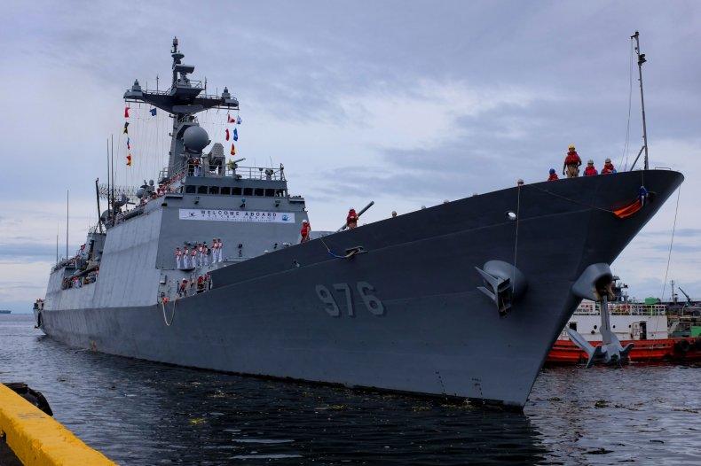 South Korean Warship Munmu the Great