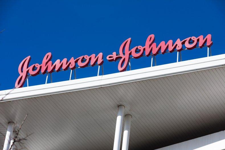 Johnson & Johnson Sign