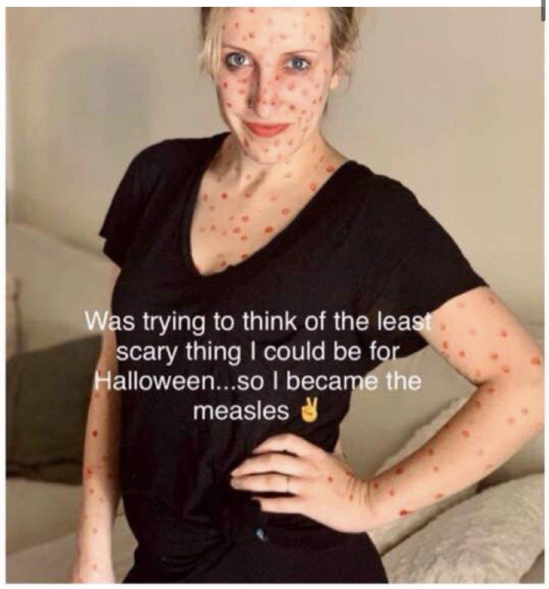 Heather Simpson used to be an anti-vaxxer
