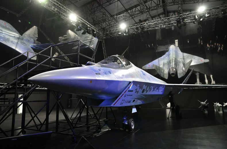 Russia Unveils New Fighter Jet