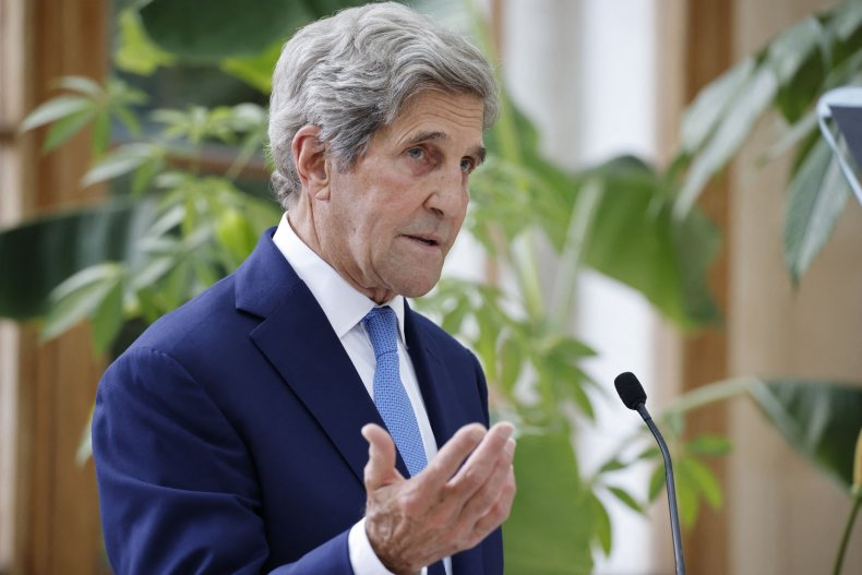 Kerry 'Time Running Out' on Climate Crisis