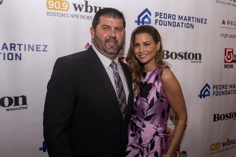 Jason and Catherine Varitek