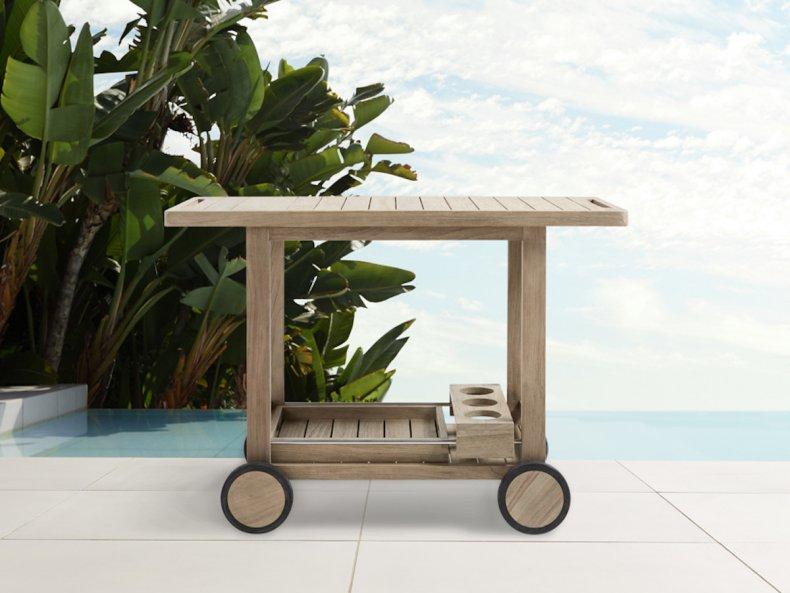 best backyard products bar cart