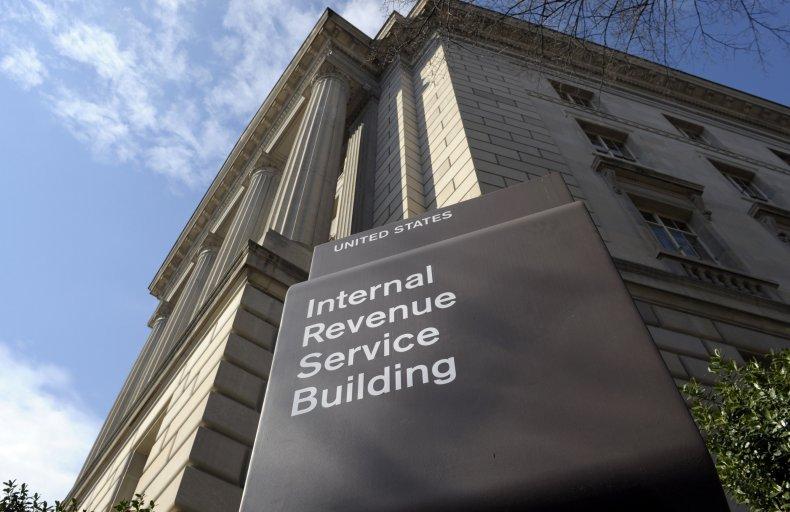 Internal Revenue Service (IRS) building in Washington