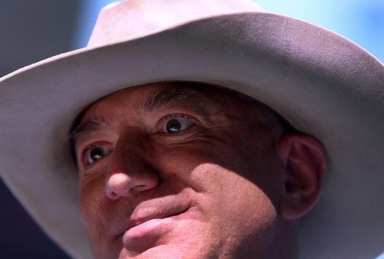 Bezos in Hat