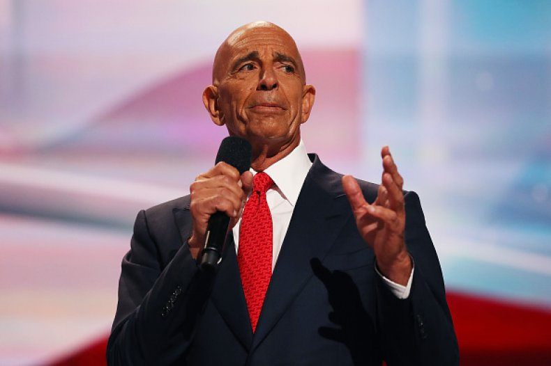 Thomas Barrack Donald Trump Arrested Federal Charges