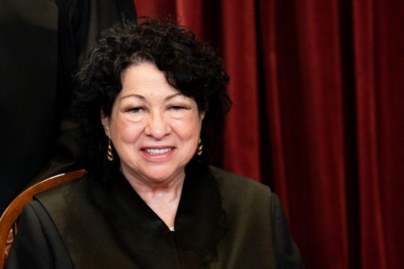Supreme Court Justice Sonia Sotomayor