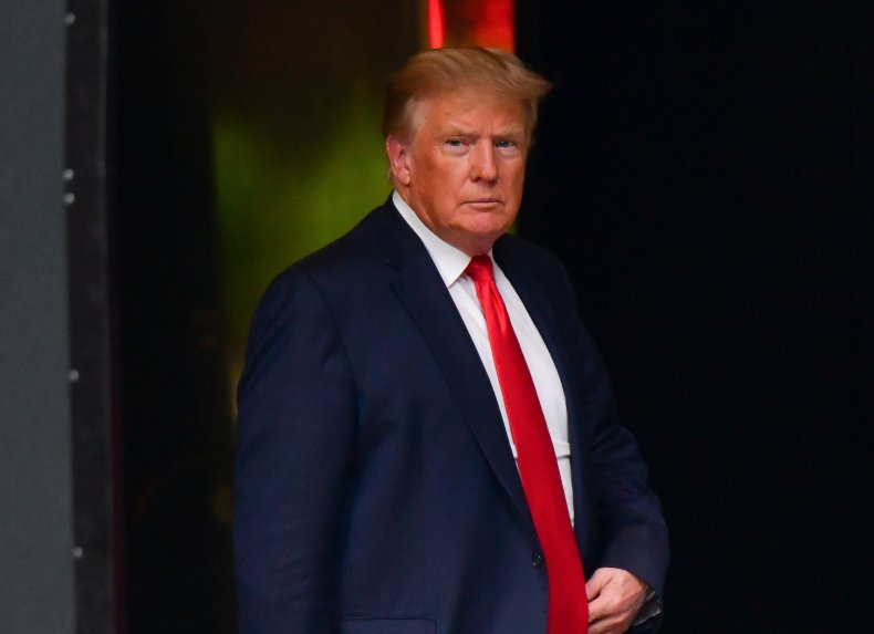 Trump leads 2024 GOP primary poll