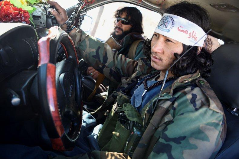Afghan, Hazara, militia, patrol, Taliban