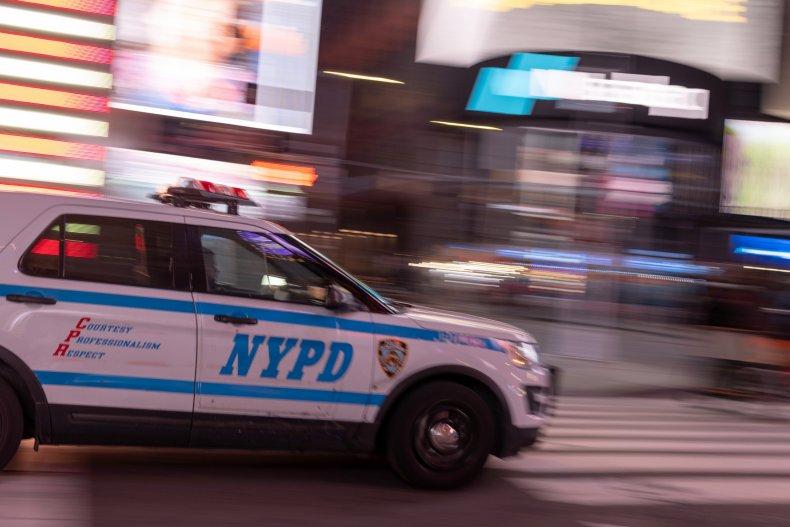 NYPD vehicle elderly man found