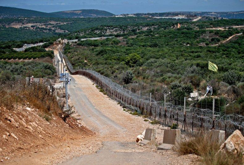 Lebanon, border, Israel, Hezbollah, flag