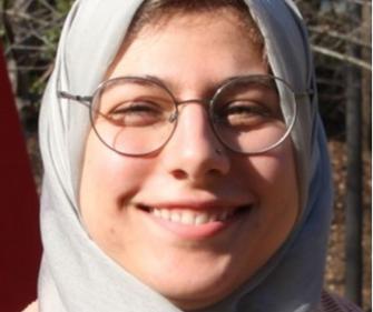 Ph.D. candidate Rasha Anayah