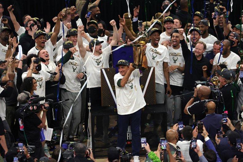 Milwaukee Bucks Celebrate