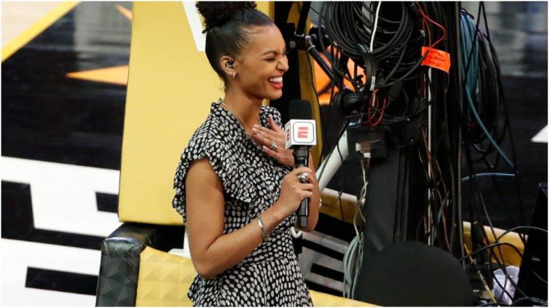 ESPN reporter Malika Andrews