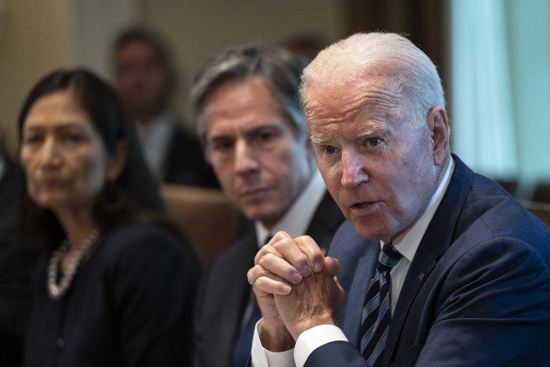 Joe Biden holds cabinet meeting White House