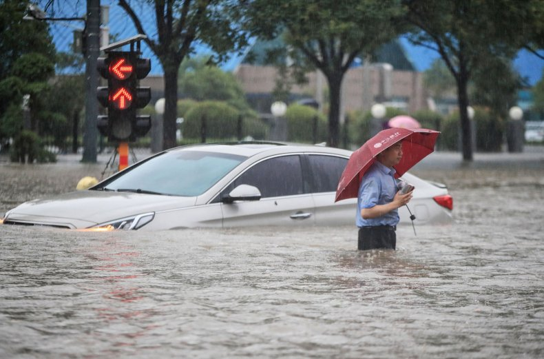 China Floods Death Toll Reaches 16