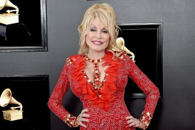 Dolly Parton at the Grammys