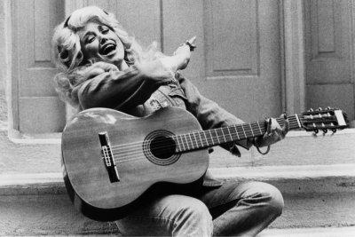 Dolly Parton performing in 1970