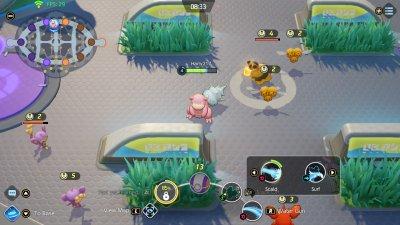 A Slowbro in Pokemon Unite
