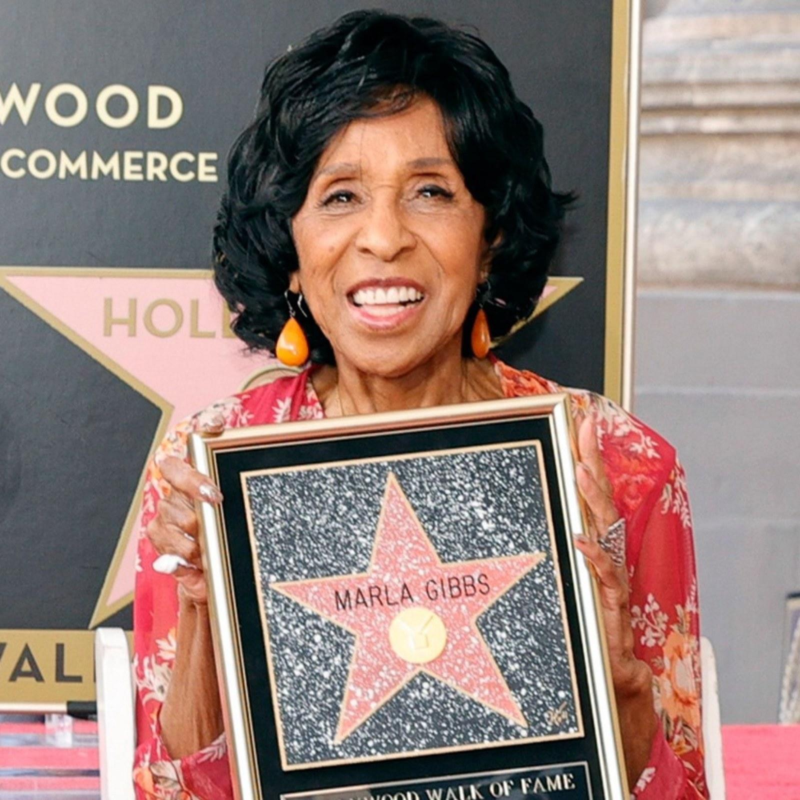 Marla Gibbs Says She Got 'Overwhelmed' At Walk of Fame Ceremony After  Sparking Concern