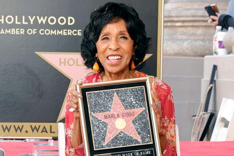 Marla Gibbs gets Walk of Fame honor