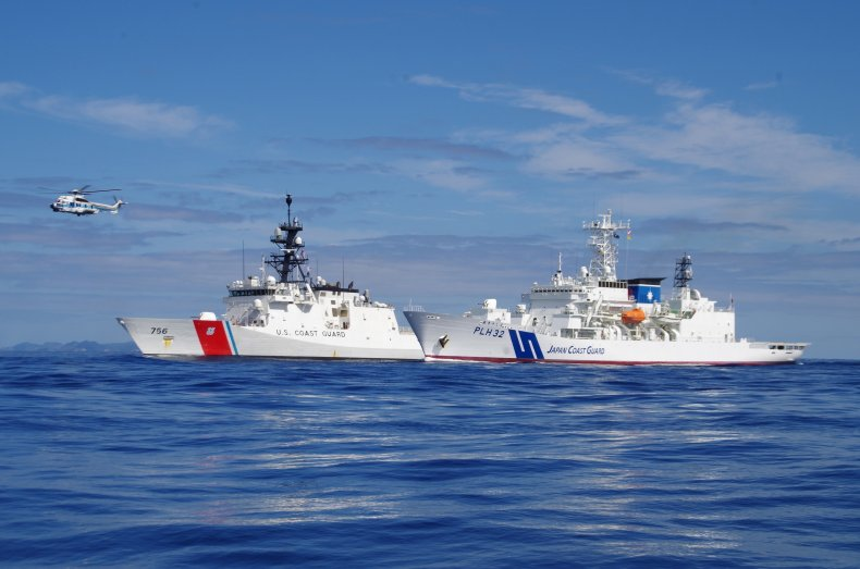 Japan and US Coast Guard Join Exercise