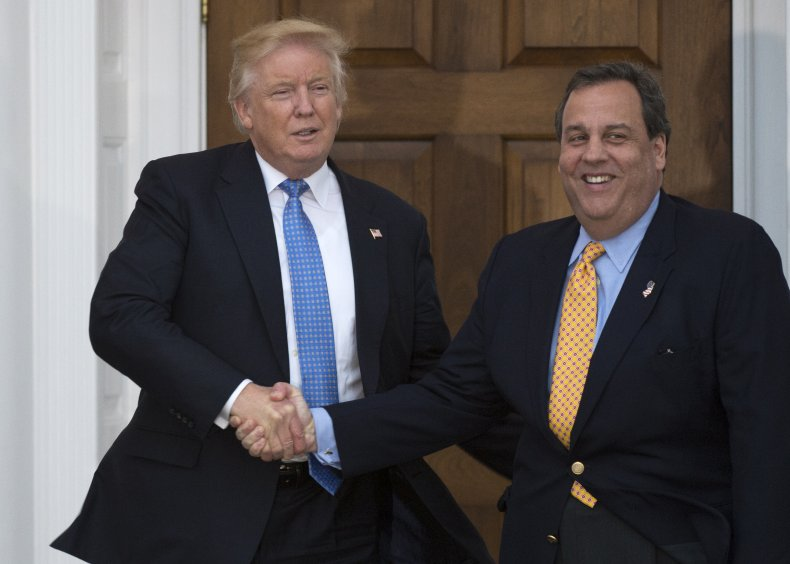 Donald Trump Meets Chris Christie in 2016