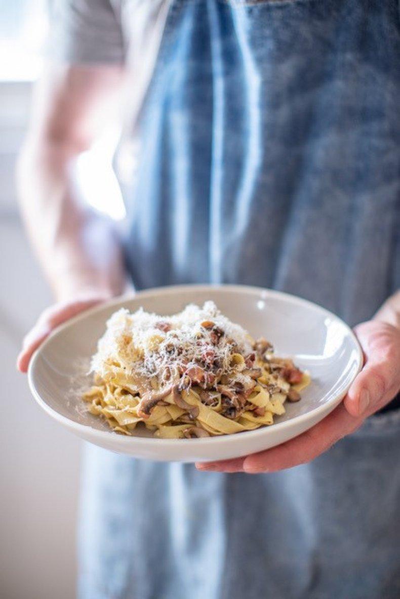 SORTEDfood's Five Ingredient Mushroom Pasta