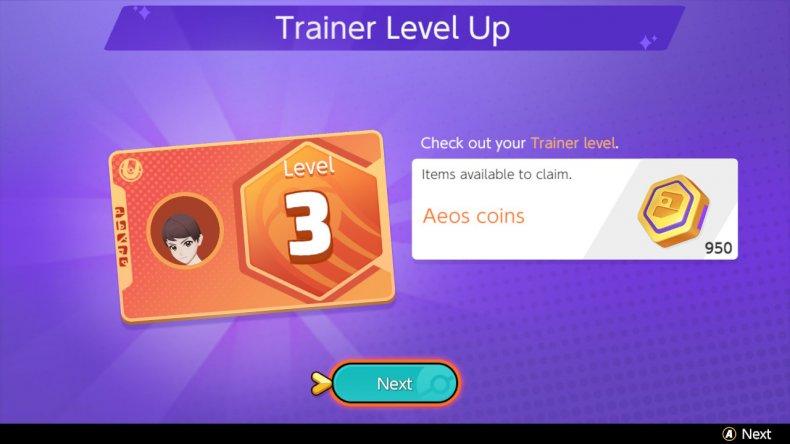 Pokemon Unite Trainer Level Up