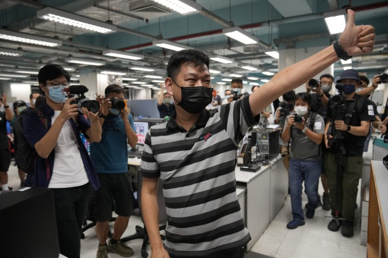 Former Apple Daily Editor