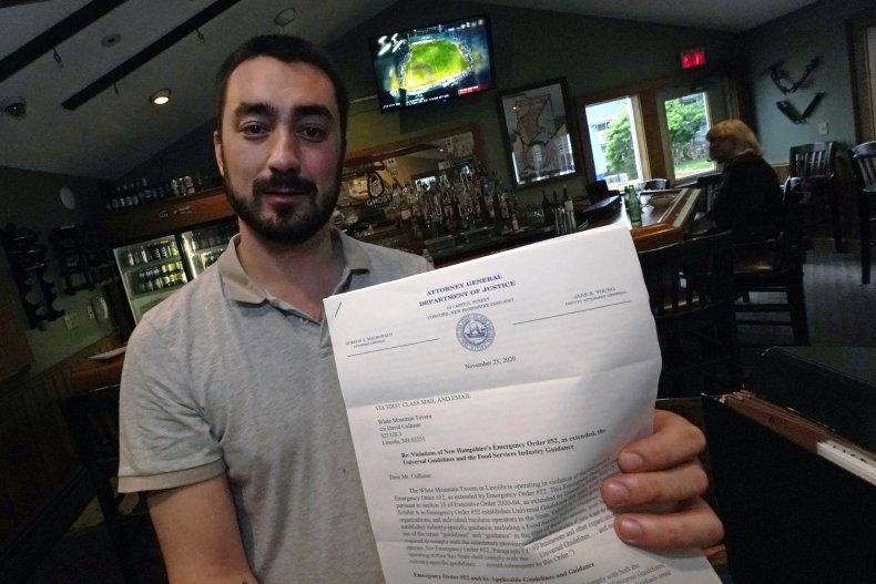 New Hampshire to Drop COVID Violation Fines