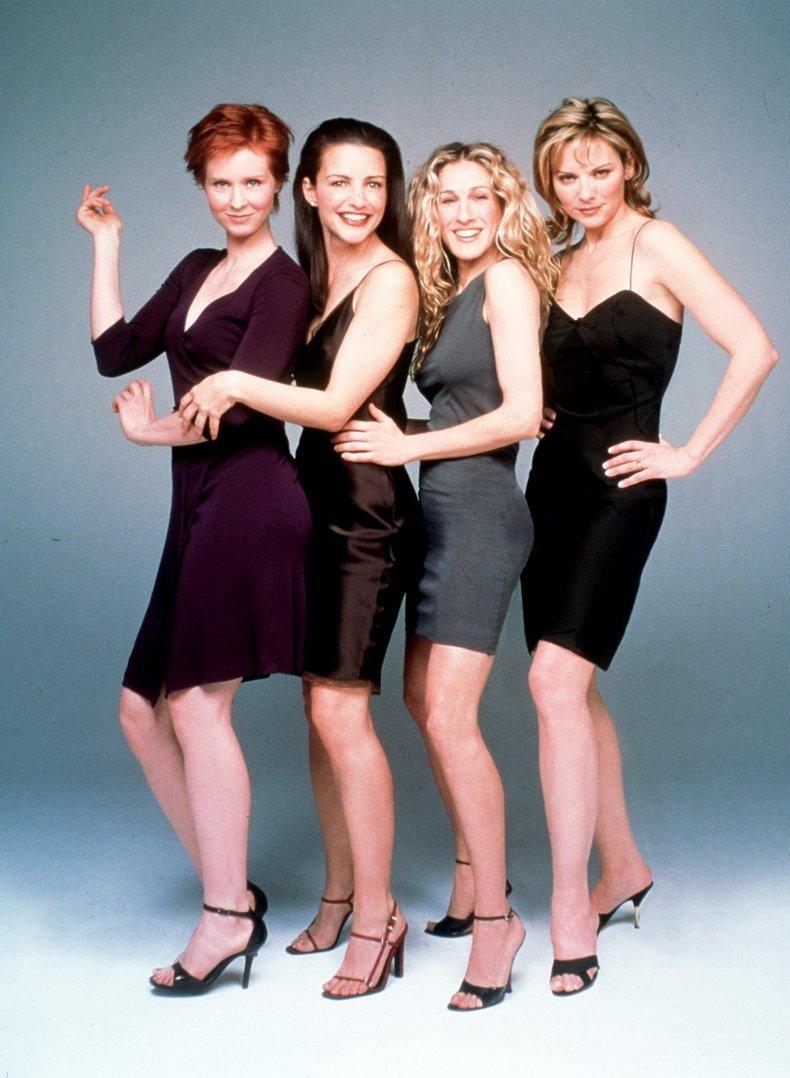 Sex and the City cast in 1992.