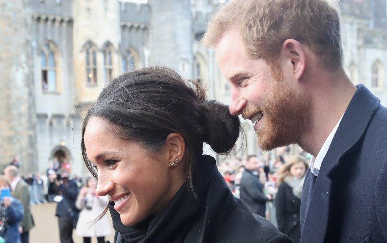 Meghan Markle, Prince Harry in Wales