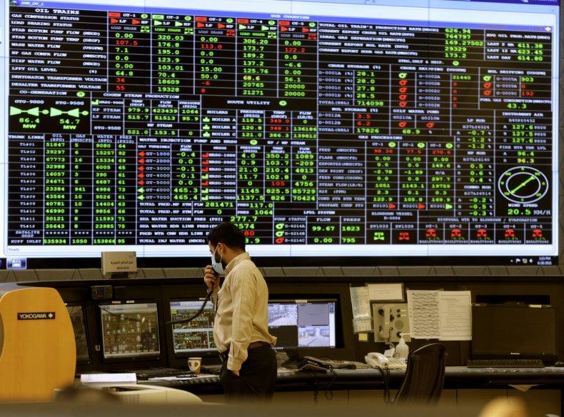 Saudi Aramco control room