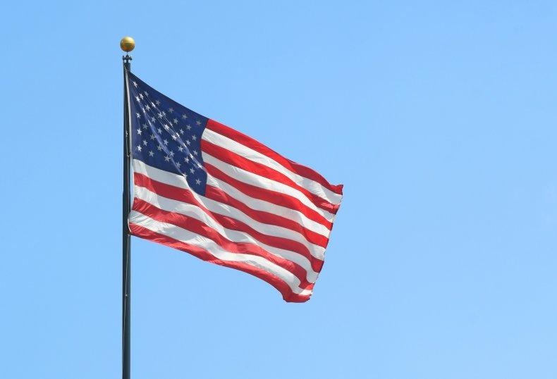 American flag arson
