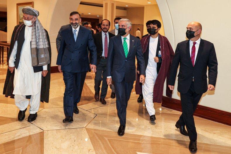 Afghani-Taliban peace talks