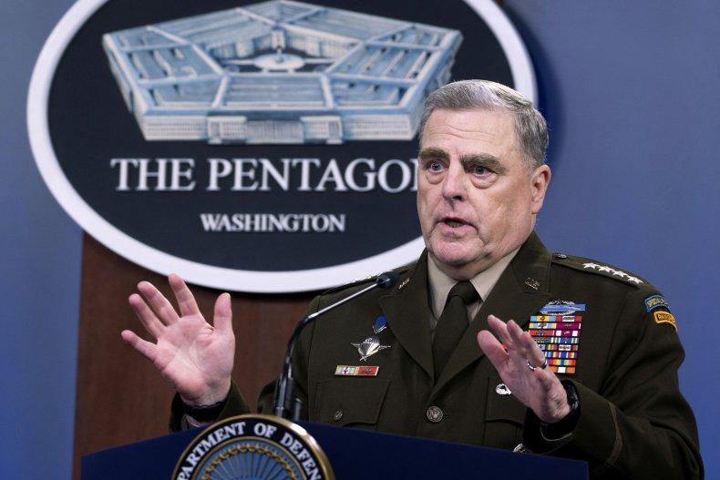Gen. Mark Milley speaks on Taliban
