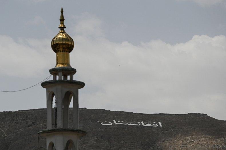 Afghanistan, hillside, Kabul