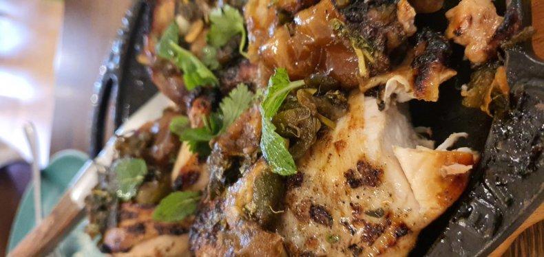 Susy Massetti's Roast Chicken with Dates
