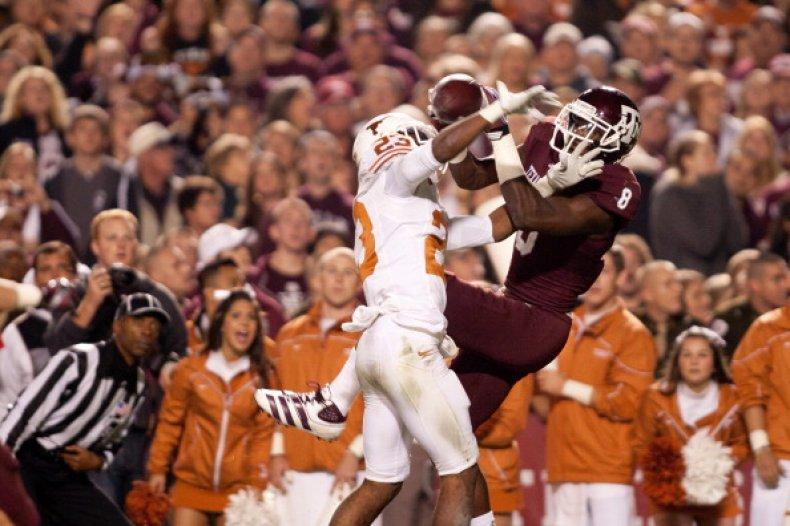 Texas vs Texas A&M Football