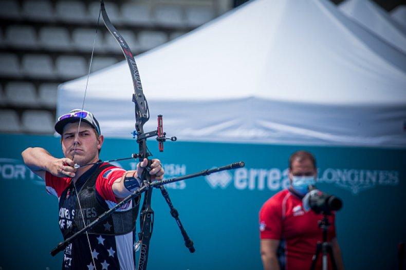 US Archer Jack Williams
