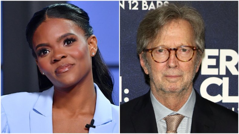 Candace Owens and Eric Clapton