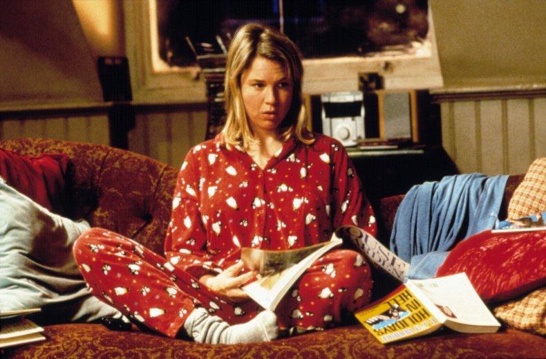 Renee Zellweger in Bridget Jones Diary