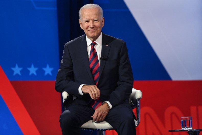 Joe Biden at a CNN Town Hall.