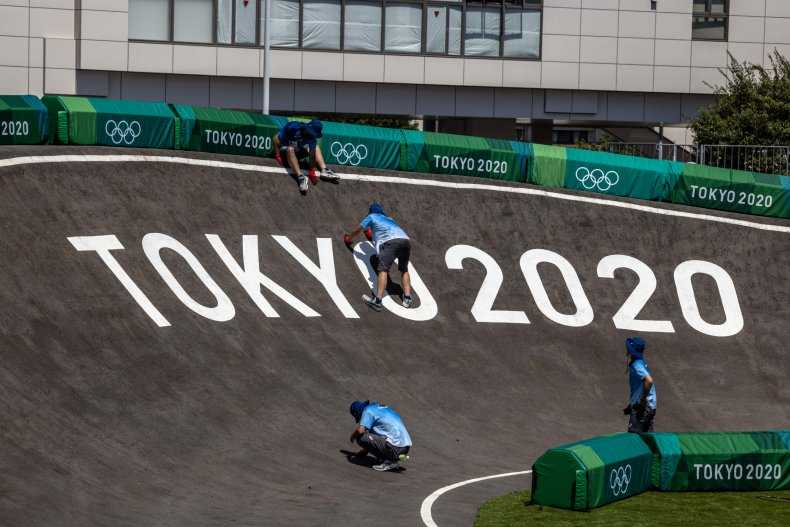 Final Preparations For Tokyo Olympics