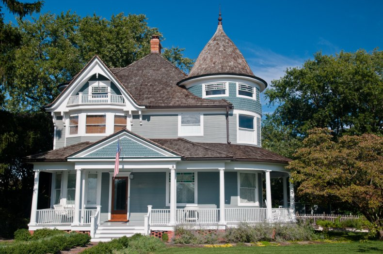 File photo of a Victorian-style home.