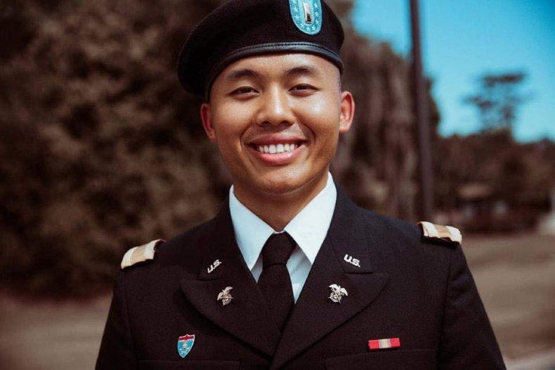 1st Lt. Brian Yang in uniform.