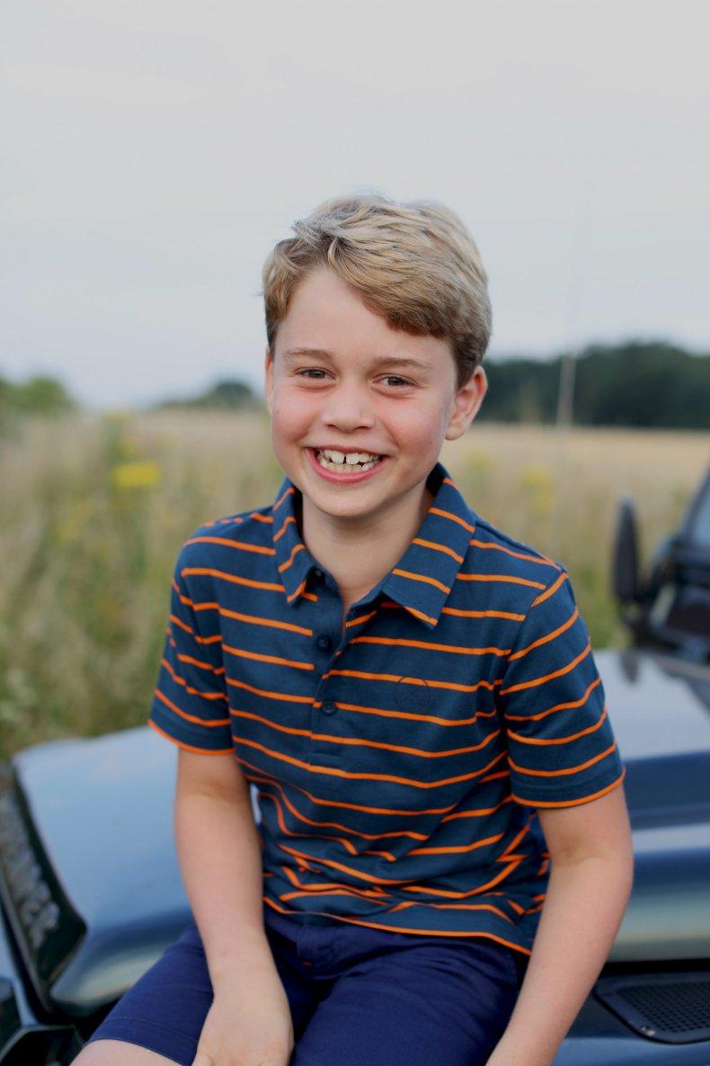 Prince George Aged Eight