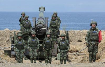 Taiwan Military Prepares Anti-Landing Exercise